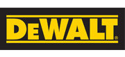 DeWalt power tools logo at Yellowstone Lumber