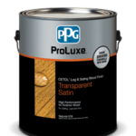 PPG log home stain available at Yellowstone Lumber