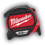 Milwaukee measuring tape, more Milwaukee tools are available at Yellowstone Lumber in Rigby, Idaho