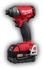 Milwaukee drill power tools, more Milwaukee tools are available at Yellowstone Lumber in Rigby, Idaho