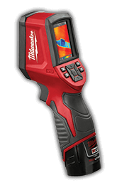 Milwaukee Thermal Imager and other Milwaukee tools sold at Yellowstone Lumber Supply Rigby